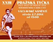 XXIII. Pražská tyčka 2014 - plakát ke stažení