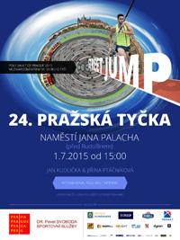 Pražská tyčka 2015 - plakát