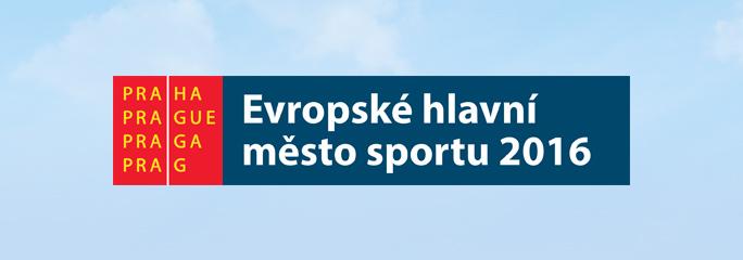 PRAHA - Evropsk� hlavn� m�sto sportu 2016 - banner