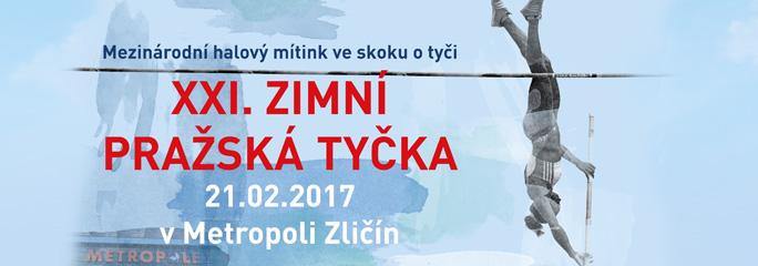 Zimní Pražská tyčka 2017 - slide 1 - titulní
