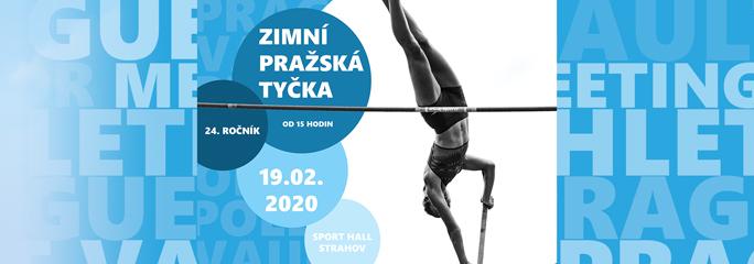 Zimní Pražská tyčka 2020 - 19.2.2020 - slide 1 - titulní