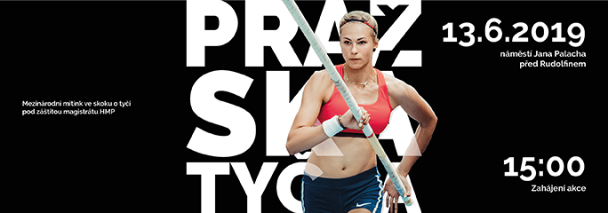 28. ročník | Pražská tyčka - 13.6.2019 - slide 1 - titulní
